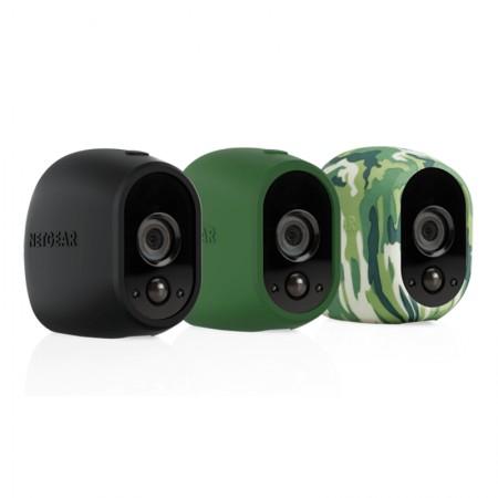 Set 3 invelisuri (negru, verde, army) de protectie pt Arlo HD Arlo Pro HD (VMA1200)