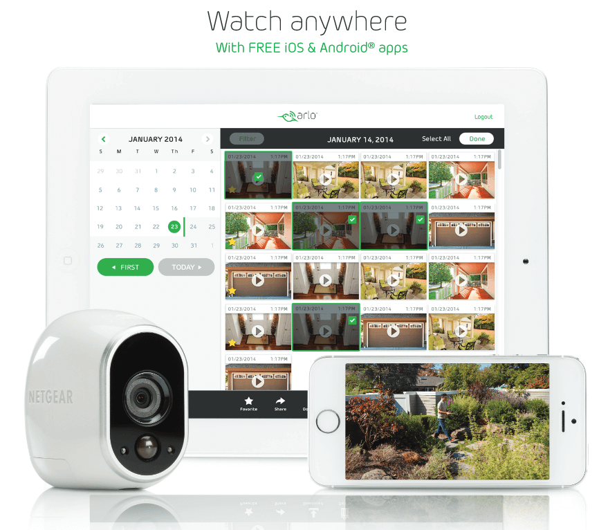 arlo hd VMS3230 camera de supraveghere wireles