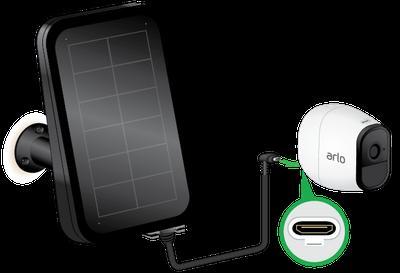 Incarcator solar ArloGo VMA 4600