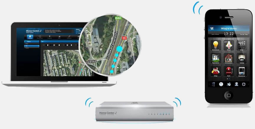 Home Center 2 HC 2/Home Center 2 Fibaro HC 2 Localizare GPS