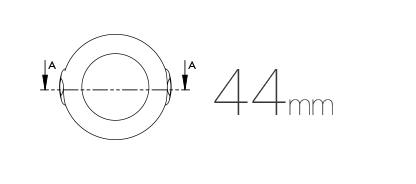 Dimensiuni senzor de miscare fibaro gen 5 Z-Wave plus