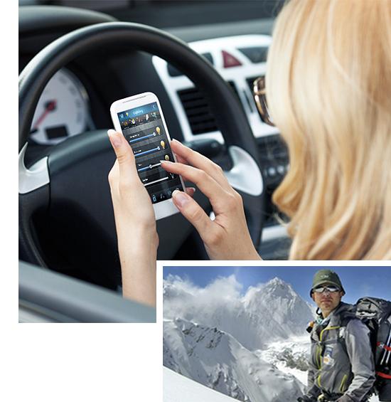 HCL control d epe mobil / remote de la distanta