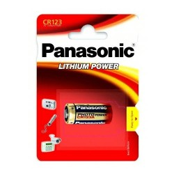 Baterie Panasonic CR123A