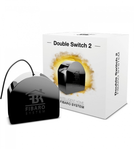 Comutator Fibaro Double Switch 2, 2x1.5kW